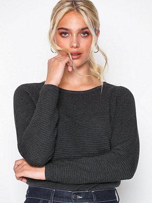 Only onlANNA L/S Pullover Knt Grå
