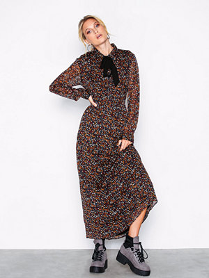 Only onlRINA L/S Long Dress Wvn