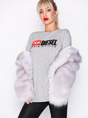 Diesel T-Just Division FL T-shir Grey Melange