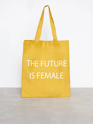 Pieces Pcfemale Canvas Shopper Gul