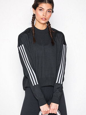 adidas Sport Performance W Id Knt Sweat Svart