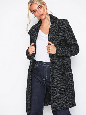 Vila Vicat Wool Coat/Tb Svart