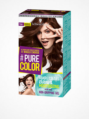 Hårprodukter - Schwarzkopf Pure Color 5.6 Chocolate Temp