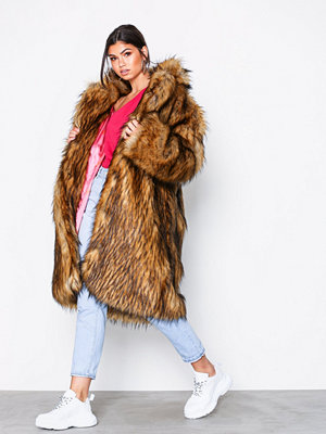 Svea Marble fur jacket