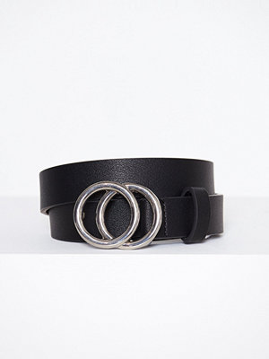 Pieces Pckarren Jeans Belt Black