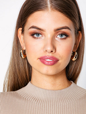 NLY Accessories örhängen Thick Small Hoops Guld