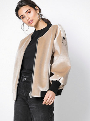 NORR omönstrad bomberjacka Bernice jacket
