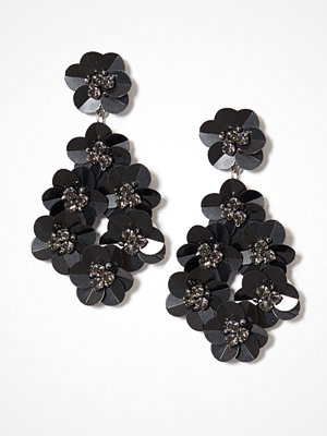 NLY Accessories örhängen Sequin Flower Earrings