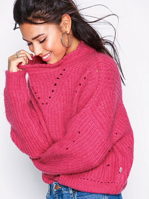 Wrangler Crop Knit Bright Rose