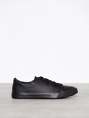 New Look PU Lace Up Black