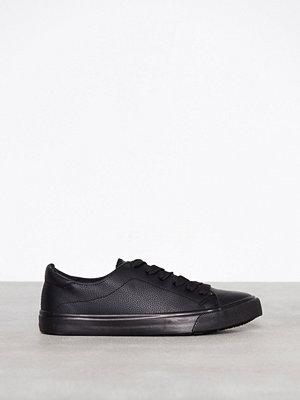 Sneakers & streetskor - New Look PU Lace Up Black