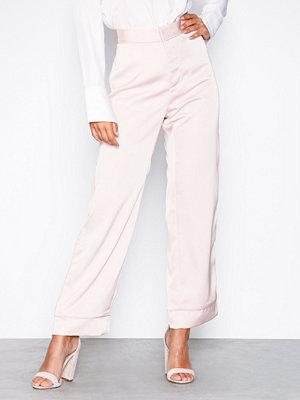 By Malina cremefärgade byxor Edina pants Pale Pink