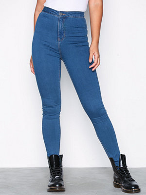 Noisy May Nmella Super Hw Jeans GU307 Noos Blå