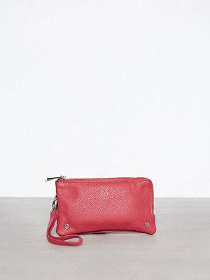 NYPD rosa axelväska Walletbag Pisa Röd