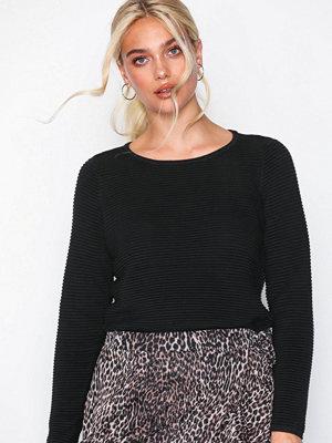 Only onlANNA L/S Pullover Knt Svart