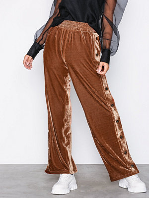 Y.a.s bruna byxor Yasgolda Velvet Pants