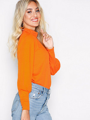 Vila Vikelana Sweat Top Orange