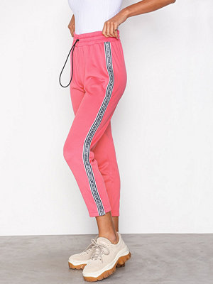 Juicy Couture rosa byxor JXJC Tricot Logo Stripe Pant Rose