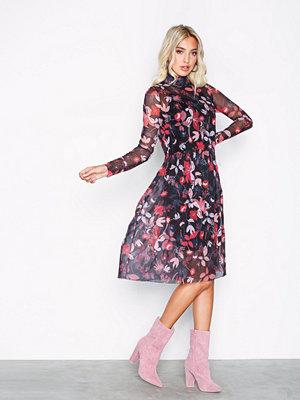 Pieces Pctoby Ls Long Dress Svart
