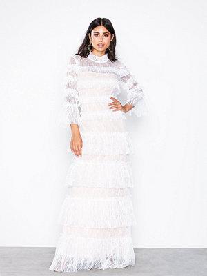 By Malina Carmine maxi dress White