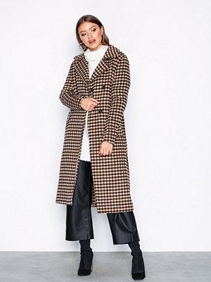 Selected Femme Slftjekka Wool Coat B Ljus Grå