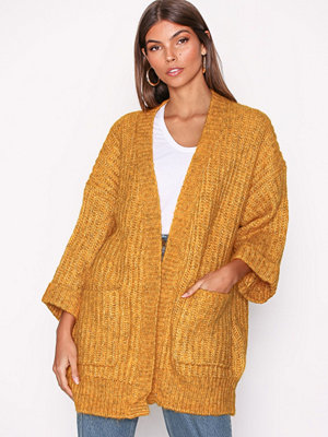 Y.a.s Yassunday Ls Knit Cardigan Orange