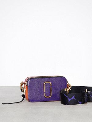 Marc Jacobs omönstrad axelväska Snapshot Bag Violet