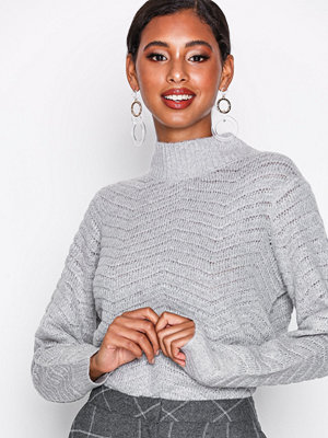 Y.a.s Yasbeatrice Knit Pullover Ljus Grå