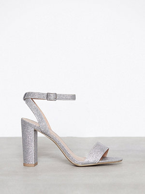New Look Glitter Block Heel Sandal