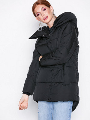 Only onlAUGUSTA Quilted Coat Otw Svart