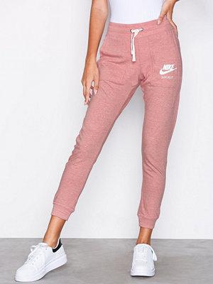 Nike gammelrosa byxor NSW Gym Vintage Pant Rostbrun