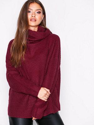 Jacqueline de Yong Jdydaisy L/S High Neck Pullover Knt