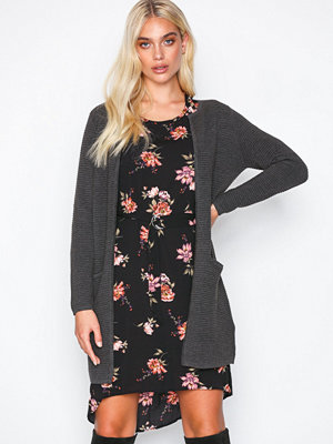 Only onlANNA L/S Long Cardigan Knt Grå