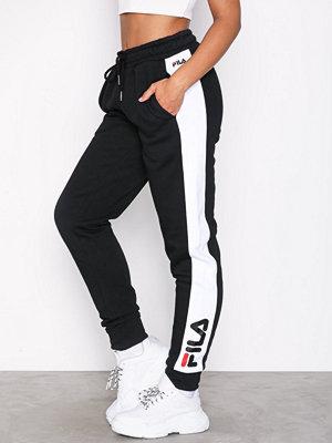Fila byxor med tryck Pippa Slim Pants Black