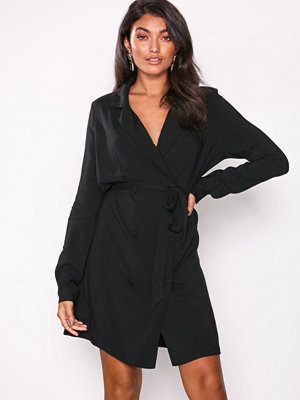 Vila Vijoianna Blazer Dress Svart