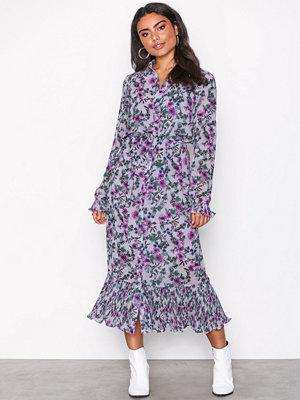 Pieces Pcadrianna Ls Dress Ff Ljus Lila