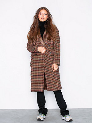 Only onlHOUSE Check Wool Coat Otw