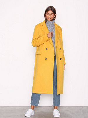 J. Lindeberg Amaris Fluffy Wool Yellow