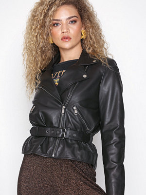 Selected Femme Slfmaria Leather Jacket B