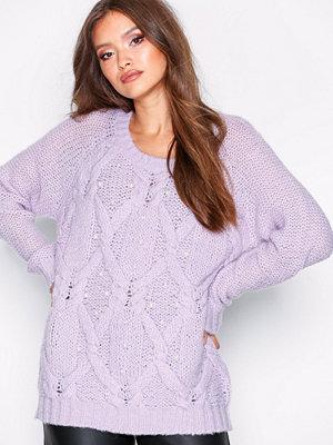 Vila Viblinda Knit Pearl L/S Top