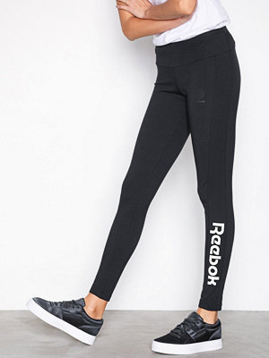 Leggings & tights - Reebok Classics F Logo Legging Svart/Vit
