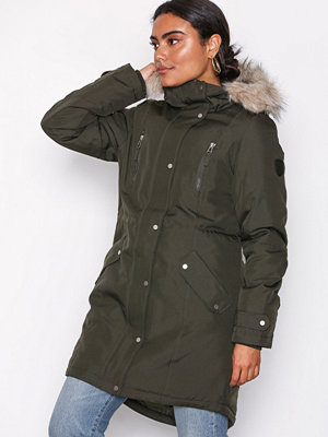 Vero Moda Vmtrack Expedition AW18 3/4 Parka Mörk Grå