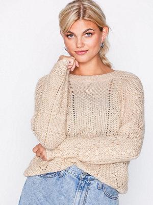 Only onlOSLO L/S Pullover Cc Knt Ljus Grå