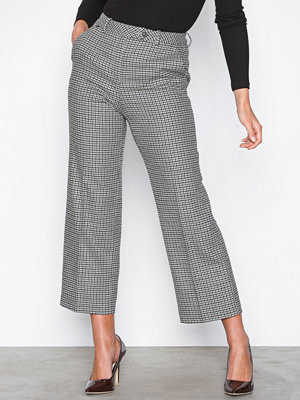 Morris mönstrade byxor Arwen Trousers / 60 Navy / 40 Navy