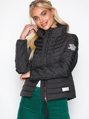 Odd Molly svart bomberjacka downfall jacket Almost Black