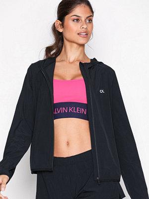 Sportkläder - Calvin Klein Performance Wind Jacket Logo Svart