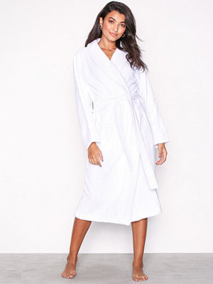 Morgonrockar - Calvin Klein Underwear Robe Vit