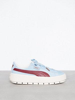 Sneakers & streetskor - Puma Pltaform Trace Corduroy Blå
