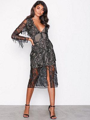 True Decadence Black Lace Dress Black