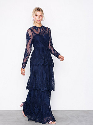 By Malina Annie maxi dress Dark Blue